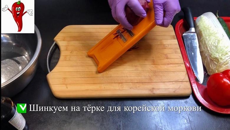 Супер легкий салат «Щётка» готовим дома фото 3