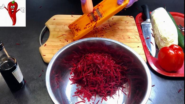 Супер легкий салат «Щётка» готовим дома фото 4