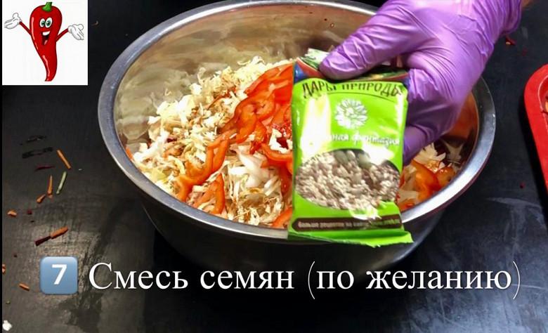 Супер легкий салат «Щётка» готовим дома фото 9