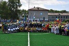 Спорткомплекс и пришкольный стадион открылись в Комсомольском районе Хабаровского края