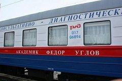 Медицинский поезд «Академик Федор Углов» прибудет в Хабаровский край