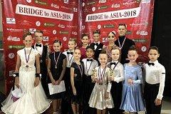 Сборная Хабаровского края по танцевальному спорту стала победителем международного турнира