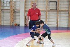 Александр Карелин провел мастер-класс для будущих хабаровских чемпионов