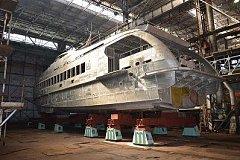 Хабаровский судостроительный завод получит заказ на скоростные суда для Минобороны России