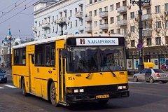 В Хабаровске временно изменилась схема движения маршрута №82