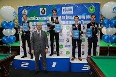 Бильярдисты Хабаровского края завоевали три золота всероссийских соревнований