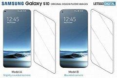 Samsung разрабатывает несколько вариантов дизайна смартфона Galaxy S10