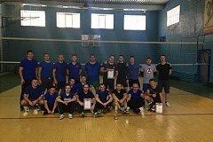 Сотрудники МЧС России по Хабаровскому краю разыграли кубок по волейболу