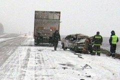 Очередное смертельное ДТП произошло на трассе Хабаровск - Комсомольск-на-Амуре
