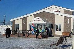 В поселке Харпичан Солнечного района открыт новый дом культуры
