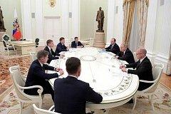 Губернатор Хабаровского края Сергей Фургал встретился с Президентом России Владимиром Путиным