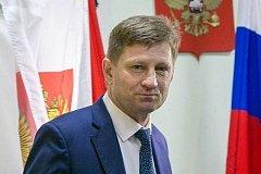 Сергей Фургал стал вторым в топ-5 губернаторов