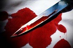 Хабаровчанин резанул себе по гору ножом пытаясь удержать подругу