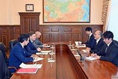 Сергей Фургал встретился с генконсулом Японии в Хабаровске