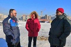 Заместитель министра спорта РФ осмотрел спортивные объекты Комсомольска