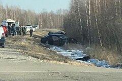 ДТП в Хабаровском крае: женщина погибла, ребенок в реанимации (фото)