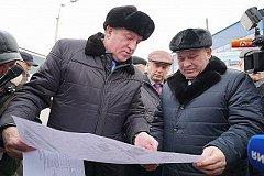 Двухполосная дорога со светодиодным освещением появится возле дворца единоборств в Хабаровске