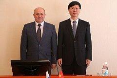 Хабаровск и Фуюань договорились наращивать сотрудничество