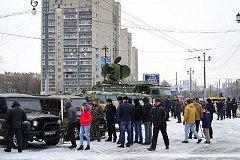 Эшелон военно-патриотической акции «Сирийский перелом» с боевыми трофеями прибыл в Хабаровск