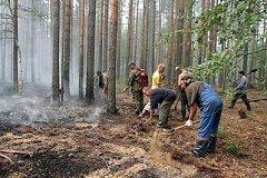 В Хабаровском крае обострилась ситуация с лесными пожарами
