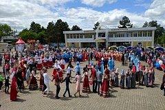 День России в Хабаровске отметили большим хороводом дружбы