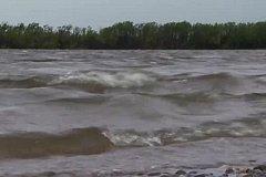 Уровень воды в реках Хабаровского края становится неблагоприятным