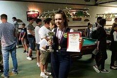Хабаровчанка выиграла всероссийский турнир по бильярду