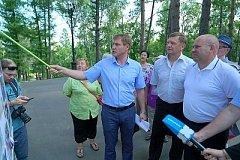 Новый спортивно-досуговый центр появится в хабаровском парке ДОФ