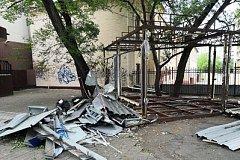 В Хабаровске освободили земельный участок от незаконно возведенного торгового павильона