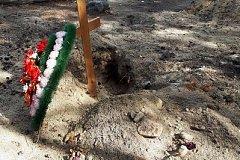 Медведи продолжают раскапывать могилы на комсомольском кладбище
