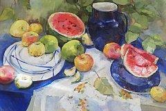 В Хабаровске проходит ежегодная художественная выставка «Дыхание лета»