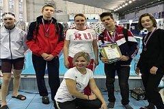 Хабаровские пловцы завоевали медали кубка России среди инвалидов