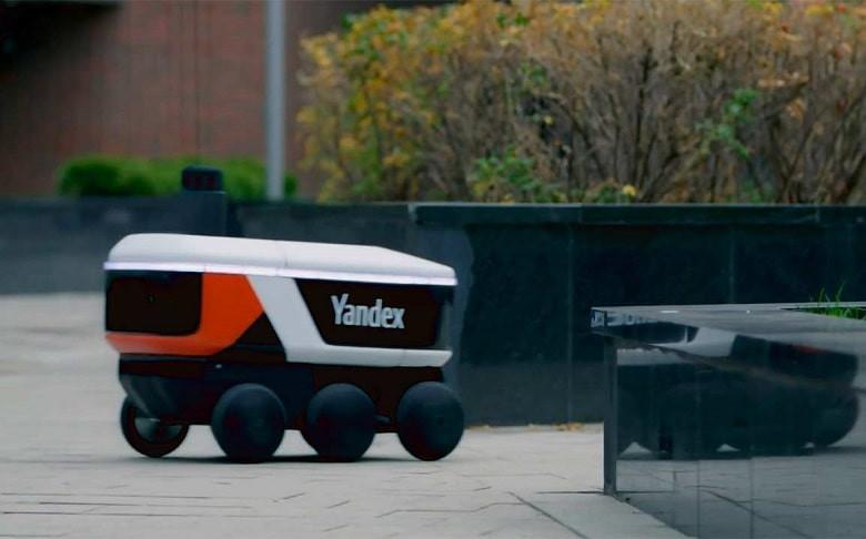 Яндекс тестирует автономных роботов доставки фото 2