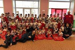 Воспитанники детского сада попробовали свои силы в выполнении комплекса ГТО