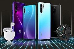 Huawei объявила о скидках до 15 тысяч рублей на смартфоны
