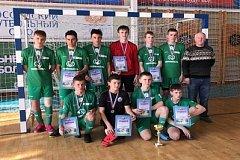 Команда Хабкрая заняла второе место в этапе всероссийских соревнований по мини-футболу