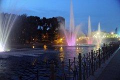 Хабаровские фонтаны возобновили свою работу