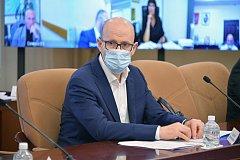 Михаил Дегтярев представил нового зампреда по социальным вопросам
