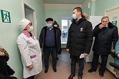 Михаил Дегтярев познакомился с «Земским доктором» в Солнечном районе