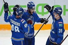 «Барыс» по буллитам победил «Амур» в матче КХЛ