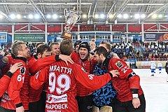 «СКА-Нефтяник» победил «Динамо» и выиграл Суперкубок России