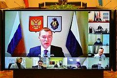 Цены на продукты, коронавирус и пожары обсудили в правительстве Хабаровского края