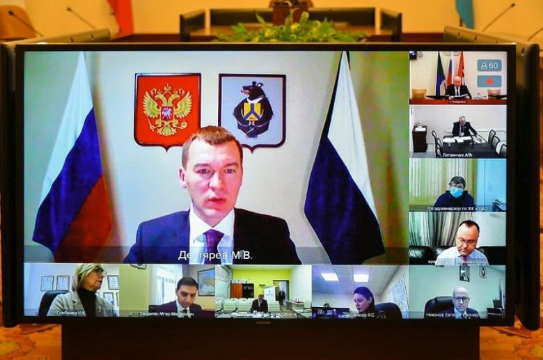 Цены на продукты, коронавирус и пожары обсудили в правительстве Хабаровского края фото 2