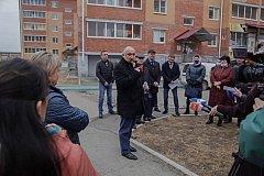 Краевые власти занимаются решением коммунальных проблем квартала Твердохлебово