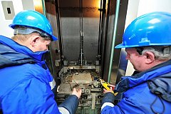 Замена лифтов в Хабаровском крае идет опережающими темпами