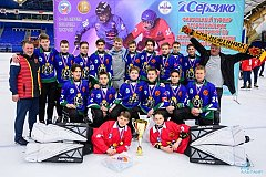 """Команда """"СКА-Нефтяник-2005"""" стала победителем всероссийских соревнований по хоккею с мячом"""