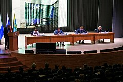 Михаил Дегтярев провел в Комсомольске-на-Амуре расширенное заседание краевого правительства