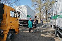 Автопоезд «Здоровье» начал работу в Бикинском районе