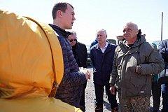 Краевые власти оперативно стабилизировали ситуацию с паводком в Николаевском районе
