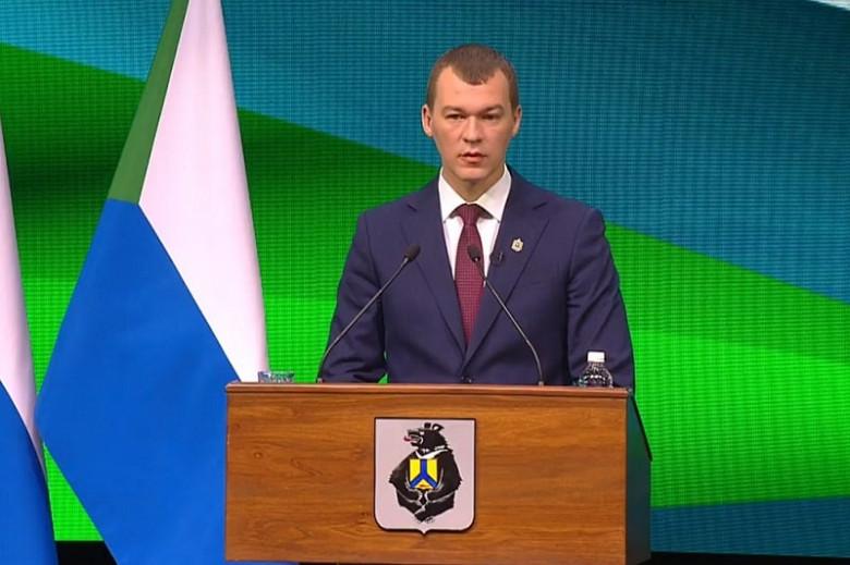 Михаил Дегтярев отчитался перед депутатами об итогах своей работы в 2020 году фото 2